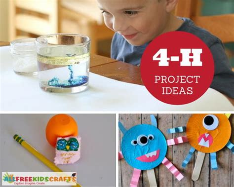 4 h craft project ideas 33 best 4 h project ideas allfreekidscrafts