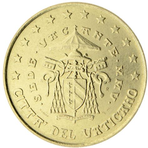 Coin Sede Centrale by Vatican 50 Cent Coin 2005 Sede Vacante Mmv Coins