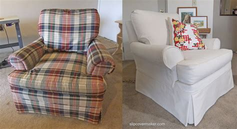 custom made slipcover custom slipcovers in natural canvas the slipcover maker