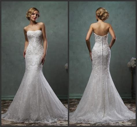 exquisite 2016 amelia sposa trumpet wedding dresses