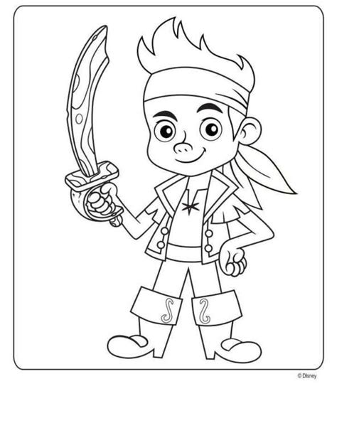 disney coloring pages jake and the neverland n 9 coloring pages of jake and the never