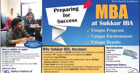 Mba No Offers by Sukkur Iba Offers Mba Admissions 2017 Merit List Result 2017