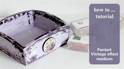 How To Make Decoupage Medium - decoupage tutorial diy shabby chic tray vintage medium