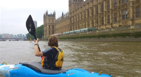river thames kayak licence kayak group leader training on the tidal thames 23 11 13