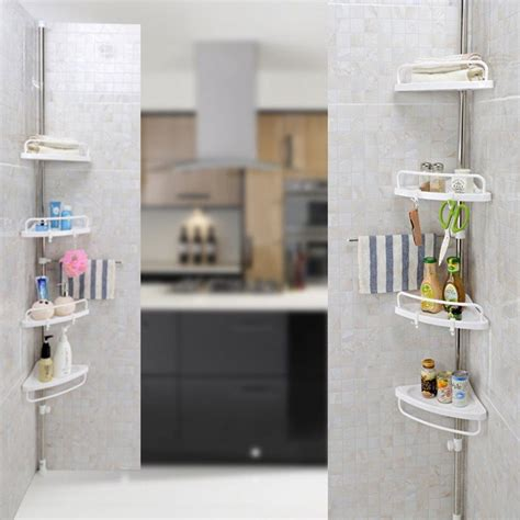 bathroom valet stand bathroom kitchen corner valet holder stand storage shelf
