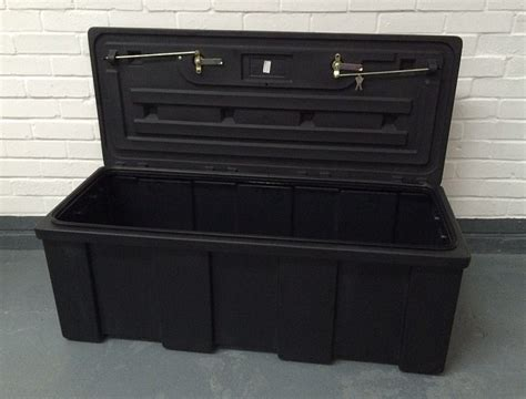 locking storage containers 205 ltr heavy duty water resistant plastic storage box