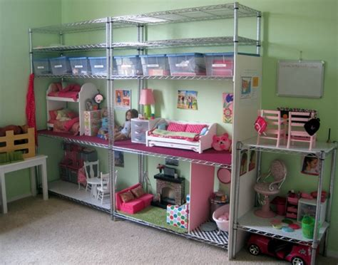How To Make A Cheap Dollhouse For American Girl Dolls Clue Wagon