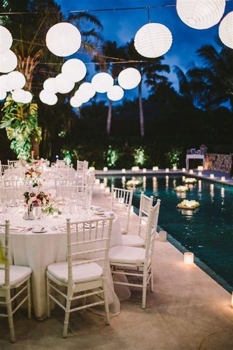 Pool Wedding Decoration Ideas by 25 Best Ideas About Pool Wedding Decorations On