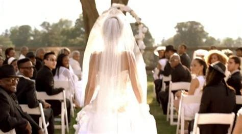 Beyonce Video Wedding Dress   Best I Never Had Video