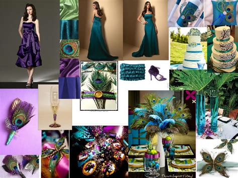 peacock wedding colors peacock theme pantone wedding styleboard the dessy