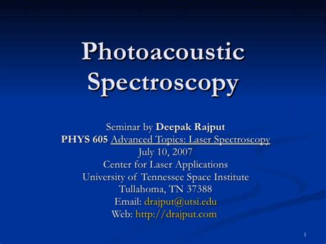 photoacoustic imaging and spectroscopy optical science and engineering books photoacoustic spectroscopy