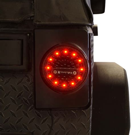 round g4 led tail lights for jeep jk 2007 2017 genssi led