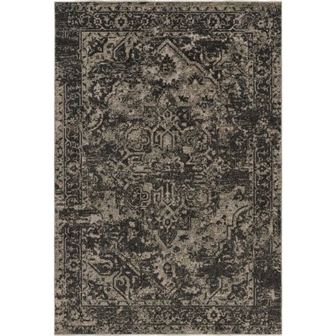 surya indoor outdoor rugs surya stardust black 2 ft x 3 ft indoor outdoor area rug sas1000 23 the home depot