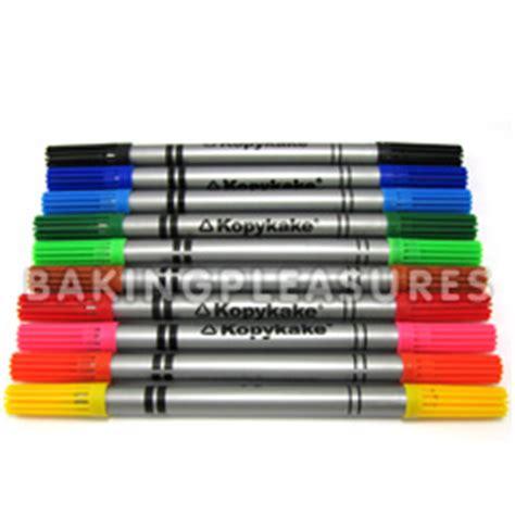 Edible Pen 2 Sided kopykake 2 sided food color pen set