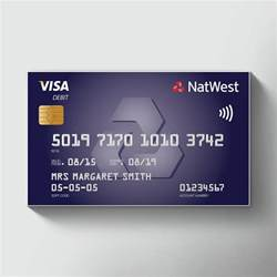 natwest credit card business order large novelty credit cards promotional printed credit card