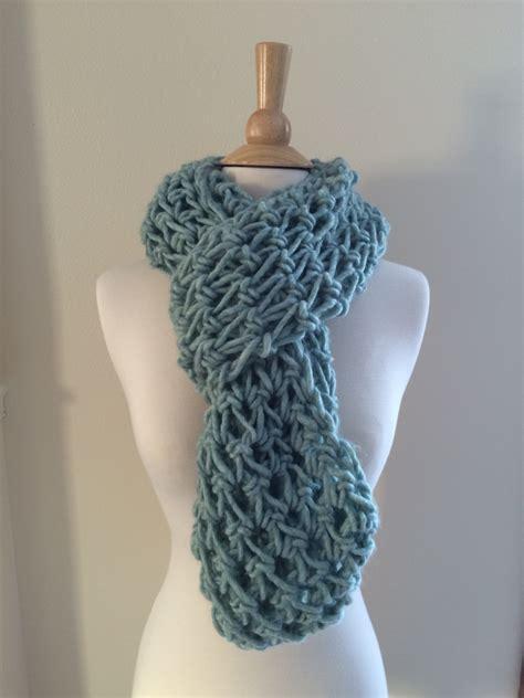 scarf pattern chunky yarn diy crochet pattern roving infinity scarf easy crochet p d