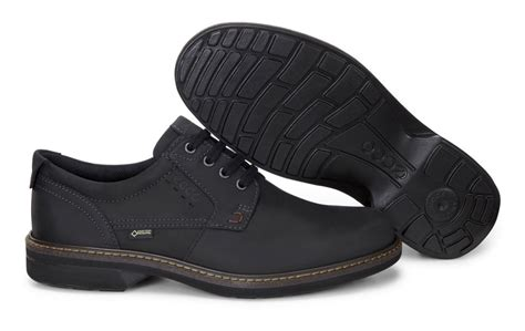 suitable ecco turn mens casual shoes black black mens
