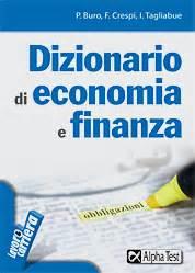 test economia e management dizionario di economia e finanza management alpha test