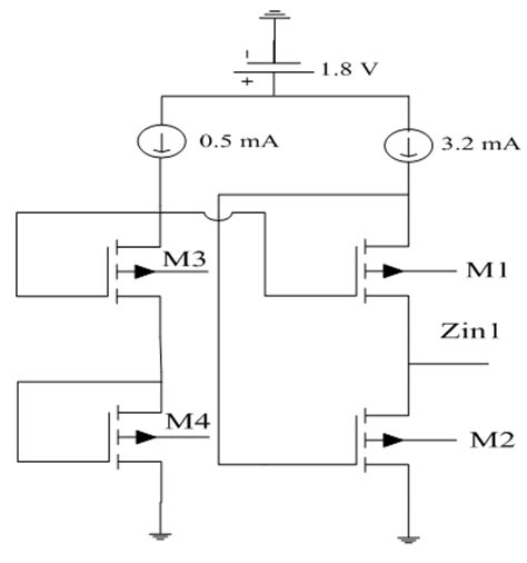 band pass filter using inductor and capacitor figure 2 active inductor with biasing circuit 1 ghz cmos band pass filter design using an