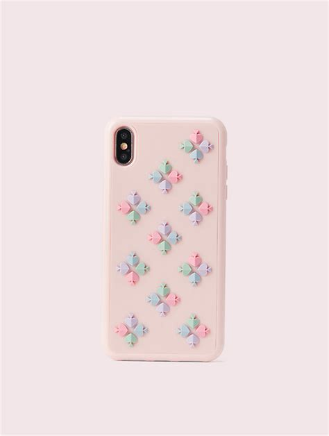 womens multi spade flower iphone xs max case kate spade