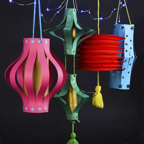 make your own paper lanterns diy paper decor