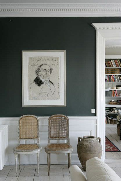 gray walls and portrait paint color