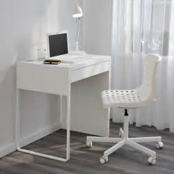 Small White Laptop Desk Home Design 93 Amazing Small White Desk Ikeas