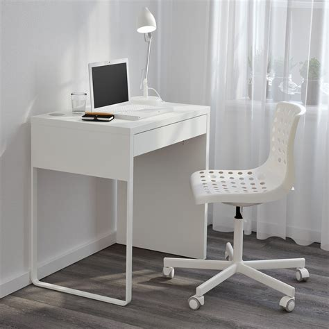 White Small Computer Desk Home Design 93 Amazing Small White Desk Ikeas