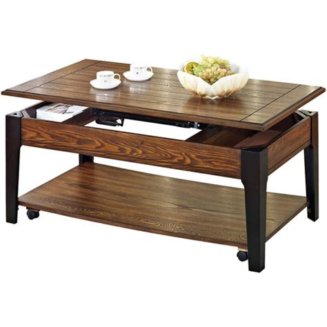 Coffee Table Walmart Magus Lift Top Coffee Table Oak Walmart