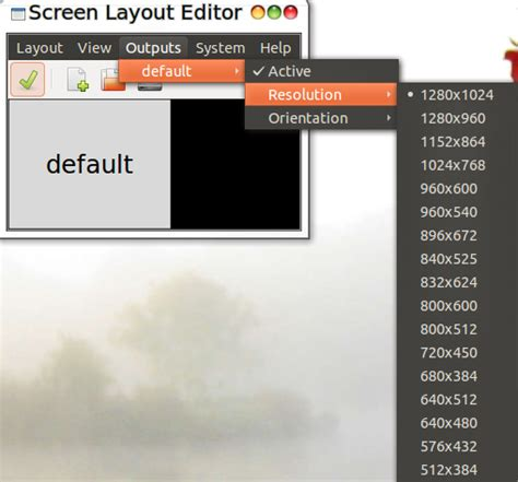 ubuntu layout editor change screen layout settings in ubuntu using arandr