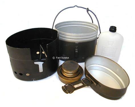 Trangia Pack 2 stoves swedish army trangia stove