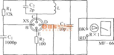 transistor ft transistor ft choosing circuit remote control circuit circuit diagram seekic