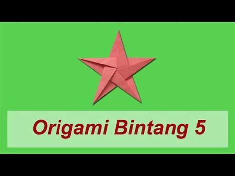 tutorial cara membuat bintang dari origami full download cara membuat balon dari kertas origami