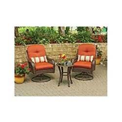 Amazon com 3 piece outdoor bistro set is perfect for small spaces