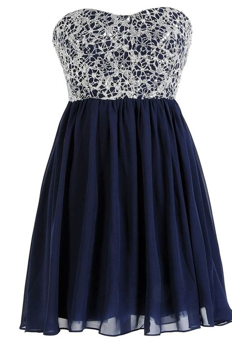in the sky sequin lace overlay designer dress by