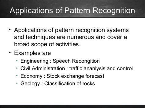pattern recognition theory and its applications pattern recognition and its applications