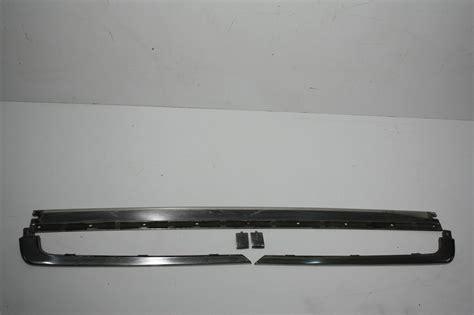 Audi Zierleisten by Audi V8 D11 Zierleisten Sto 223 Stange Hinten Chrom Ebay