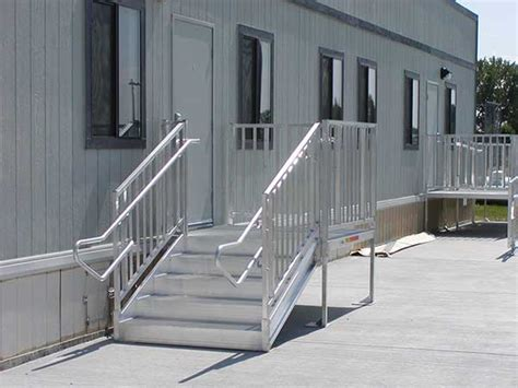 Ada Requirements For Handrails Ada Stairs For Sale Portable Aluminum Stairs Express Ramps