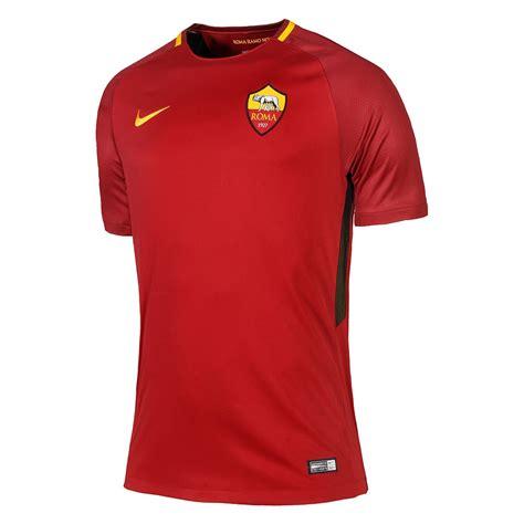 Jersey As Roma Home 3 17 18 roma home soccer jersey shirt player version cheap soccer jerseys shop