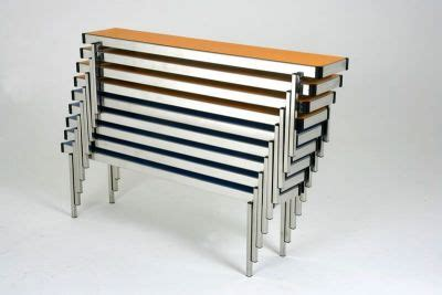folding benches from the easy lift range cafe reality