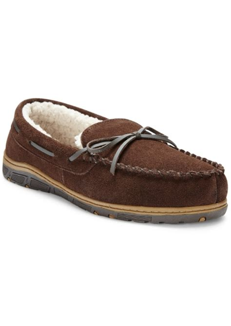 rockport slippers rockport rockport s faux fur lined moccasin slippers