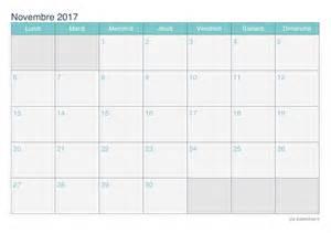Calendario 2018 Novembre Calendrier Novembre 2017 224 Imprimer Icalendrier