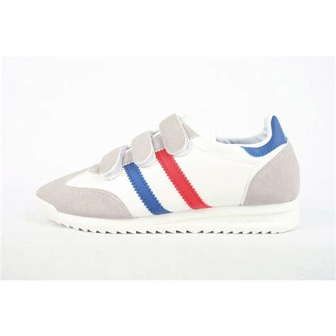 s multi color velcro wedge heel fashion