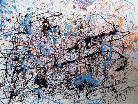 imagenes abstractas de jackson pollock pollock buso e i tempi dell arte alessandro canzian