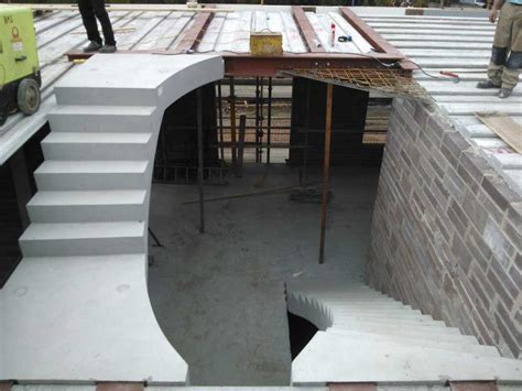 Floating Concrete Stairs And Landing concrete stairs 166 precast stair units 166 concrete landing slab
