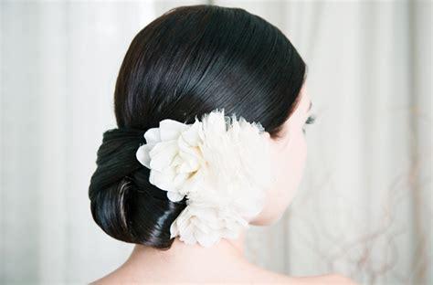 elegant wedding buns elegant low bun wedding hairstyle onewed com