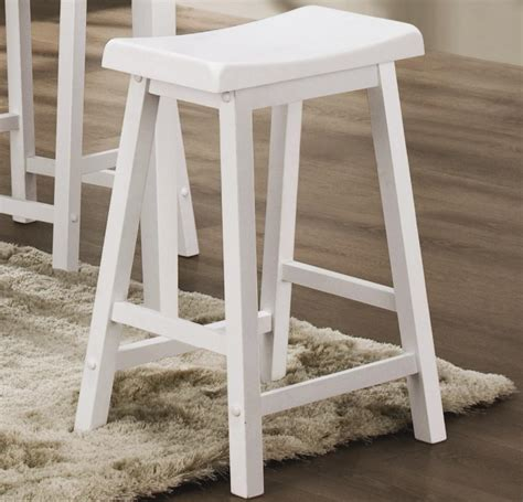 White Wood Stool by White Wood Bar Stools Providing Enjoyment In Your Kitchen