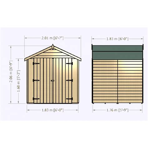 Colchester Sheds And Fencing by 6 X 6ft Overlap Door Colchester Sheds And Fencing