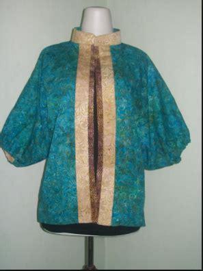 Kemeja Batik G 68 40 model baju batik atasan dan bawahan wanita terbaru