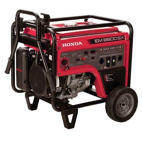 Honda Generator by Honda Em6500sxk2at1 Generator